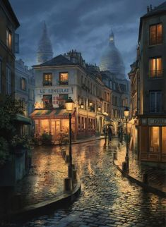 Hello, and welcome to Paris.This Week we explore the city of love, the city of light, the city of fragrance and city of art.I hope this help to your Paris tour. City Aesthetic, Travel Aesthetic, How We Met, Beautiful Paris, City Painting, Painting Art, Rainy Night, Scenery Wallpaper, Jolie Photo