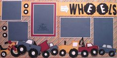 ** My Paper Craft World aka CWC - Cooking With Cricut**: Melin's Cricut Two Page Layouts