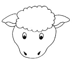 lamb cut out template - 1000 images about crafts sheep on pinterest sheep