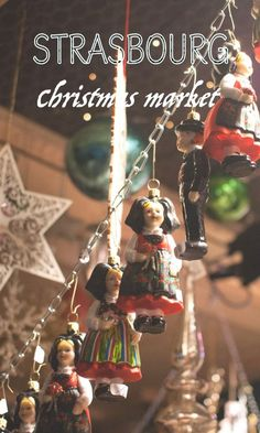 Visit the Strasbourg Christmas Market - A travel diary in text and pictures, of the visit of a 500-year-old Christmas market!  #Strasboug #France #christmas #christmasmarket #travel #travelphotography