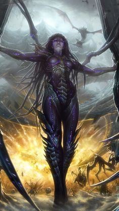 kerrigan queen of blades - Google Search