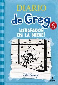 Ficha de lectura de DIARIO DE GREG 6: ¡ATRAPADOS EN LA NIEVE! de Jeff Kinney, realizada por Celia Muñoz