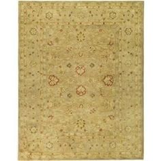 Handmade Majesty Light Brown/ Beige Wool Rug Multiple Sizes- Free Shipping