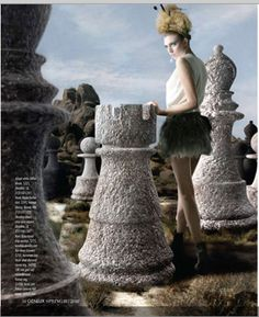 """The Look: Wonderland - """"Checkmate"""" photographed by Anderw Matusk and styled by Vanessa Shokrian"""