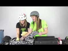 Hilarious outcome of searching roller derby girl's bags, what do we carry?