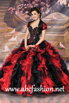 Disney Royal Ball Quinceanera Dresses Snow White Style 41071 Colors: Black/Red, Turquoise/Gold, Purplish/Silver, Lipstick/Flamingo http://www.abcfashion.net/disney-royal-ball-quinceanera-dresses-snow-white-41071.html  Call us at 972-264-9100