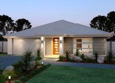 30 House Australia Design Ideas Coresponding to Your Budget - House Siding, Facade House, House Facades, House Exteriors, Bungalow House Design, House Front Design, Bungalow Exterior, House Plans One Story, Story House