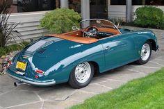 1958 Porsche 356 A Super Speedster - I still about a Porsche someday!!