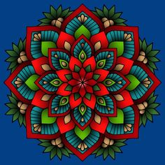 Great Mandala Colored By Karen Baker Daigle From Our New Mandalas XV Coloring Book Have You Tried The Pigment App Yet Its Best Adult