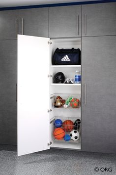 Palo Alto White Tall Garage Cabinet Need These In My Garage To Organize All My Home Decor