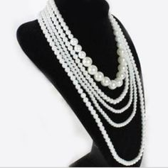 collar necklace vintage pearl chokers necklace fashion costume sweater necklace-in Choker Necklaces from Jewelry on Aliexpress.com