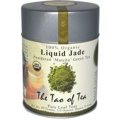 The Tao of Tea, 100% Organic Japanese Powdered Matcha Green Tea, Liquid Jade, 3 oz (85 g)  Great combination of quality and price.