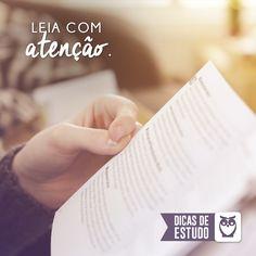 Concentre toda a sua atenção no momento da leitura! #estudos #dicas #atencao #leitura #concursos