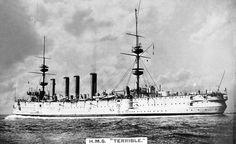 Protected cruiser, Powerful class, HMS Terrible