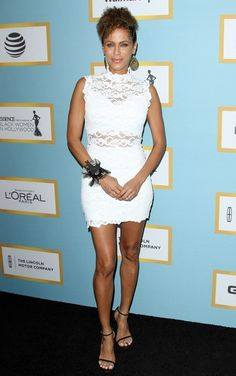 Photo of nicole ari parker - Annual Essence Black Women in Hollywood Luncheon - Picture Browse more than pictures of celebrity and movie on AceShowbiz. Celebrity Pictures, Celebrity Style, Parker Movie, Nicole Ari Parker, Hot Black Women, Black Carpet, Pretty Eyes, In Hollywood, Get The Look