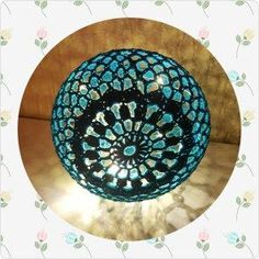 Diy Lampe, Make A Lamp, Lanterns, Decorative Plates, Household, Bomuld, Turkis, Crochet Christmas, Ballon