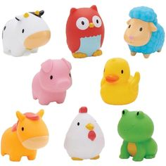 Munchkin Squirtin Bath Toy, Barnyard Friends         *** Click image to review more details. (This is an affiliate link) #Baby