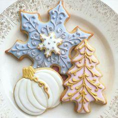 Sweet Ambs: Christmas / Winter Holiday. Snowflakes. Pumpkins. Christmas tree.