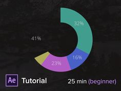 5 infographics and dashboard animations after effects tutorial