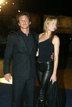 "The 60th Annual International Venice Film Festival, Italy.Premiere of ""21 Grams"" .Pic shows: Sean Penn & wife Robin Wright Penn."