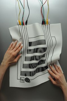 liquid MIDI is an experimental textile interface for sonic interactions, exploring aesthetics and morphology in contemporary design.