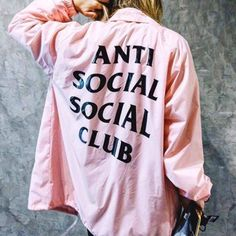 Buy this Anti Social Social Club Jacket from Top rated seller with many positive reviews. You will have Free worldwide shipping on this item. Go to store and check it out ! #Hipster #Grunge #indie #clothes #tumblr #grungefashion #fashion #tumblrclothes