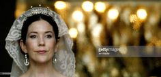 Crown Princess Mary appears on the balcony of Christian VII's Palace after her wedding to Crown Prince Frederik of Denmark on May 14, 2004 in Copenhagen, Denmark. The romance began in 2000 when Miss Mary Elizabeth Donaldson met the heir to one of Europe's oldest monarchies over drinks at the Sydney Olympics, where he was with the Danish sailing team.