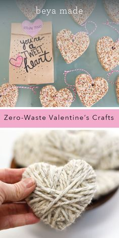 Perfect DIY Valentine's Day projects for toddlers, eco friendly and zero waste! My Funny Valentine, Kinder Valentines, Valentines Bricolage, Valentine Crafts For Kids, Valentines Day Party, Holiday Crafts, Saint Valentin Diy, Valentine's Cards For Kids, Valentine's Day Diy