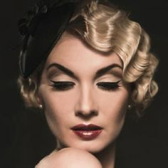 Vintage Finger Wave Hairstyles | Vintage Hairstyles and Vintage Hair Looks