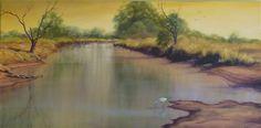 "'Tranquil Waters"" Karen Malmgren Artist Oil on canvas"