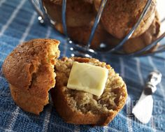 Muffin aux bananes- tried it and loved it Confort Food, Cooking Time, Cravings, Bakery, Deserts, Food And Drink, Nutrition, Favorite Recipes, Breakfast