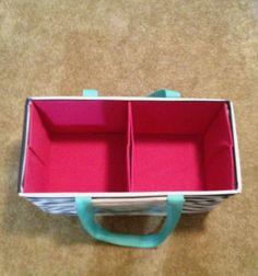 Dollar store bins fit in large utility tote https://www.mythirtyone.com/1866538