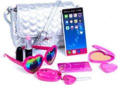 Amazon.com: maquillaje para niñas Makeup Kit For Kids, Kids Makeup, Little Girl Toys, Baby Girl Toys, Doll Clothes Barbie, Barbie Dolls, Barbie Bike, Barbie Doll House, Baby Doll Nursery