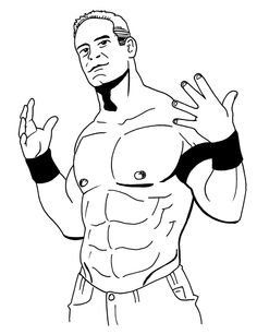 50 best WWE Coloring images on Pinterest | Coloring pages, Wwe party ...