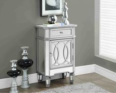 New Post small accent table decor