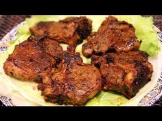 Moroccan Grilled Lamb Chops