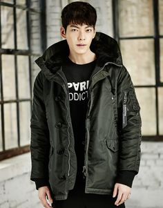 kim woobin for giordano f/w 2015 Asian Celebrities, Asian Actors, Korean Actors, Kim Woo Bin, Shin Min Ah, Drama Funny, Man Crush Everyday, Handsome Actors, Men Handsome