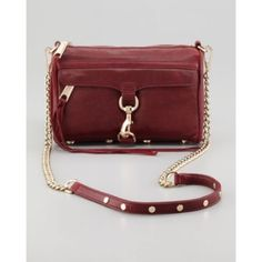 Rebecca Minkoff dark red Mac crossbody purse Rebecca Minkoff dark red Mac crossbody purse. Gold hardware. Pebbled leather. In great condition. Worn a few times. Get it for a great price! No pp, no trades, no exceptions. Rebecca Minkoff Bags Crossbody Bags