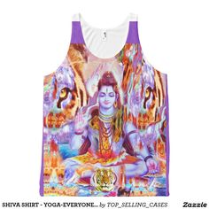 SHIVA SHIRT - YOGA-EVERYONES TANK TOP COLLECTION