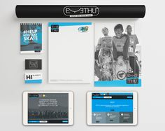 The creation of a brand identity for Eyethu Skate Park, a skate park for the kids of Hout Bay.