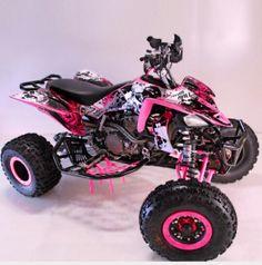 Black pink Atv/Fourtrack