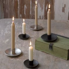 Tons of new tapers holders are in stock, including extensions on our popular Simplicity Taper Holders #northernlightscandles #candles #taperholder #tapers #accessories #simplicity #accessories #homedecor #spring #new
