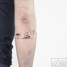 Simple but adorable, the tattoos of Ahmet Cambaz (image)