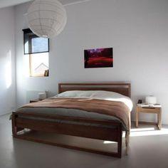 Ethnicraft Teak Light Frame King Bed by Ethnicraft   Clickon Furniture