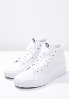 True whites! I still rock these..after getting over the fact that I can't keep white shoes clean.