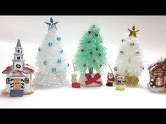 Pintar Arbolitos de Navidad en Madera - Ideas Navideñas - YouTube