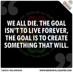 Book Of All Quotes: We All Die