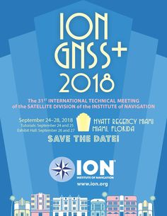 ION GNSS+ 2018 Cover Art Cover Art, Graphic Design, Cover Design