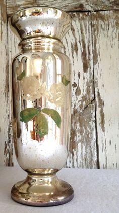 Antique Mercury Gl Vase