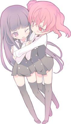 Ririchiyo & Roromiya ♥ Inu X Boku SS